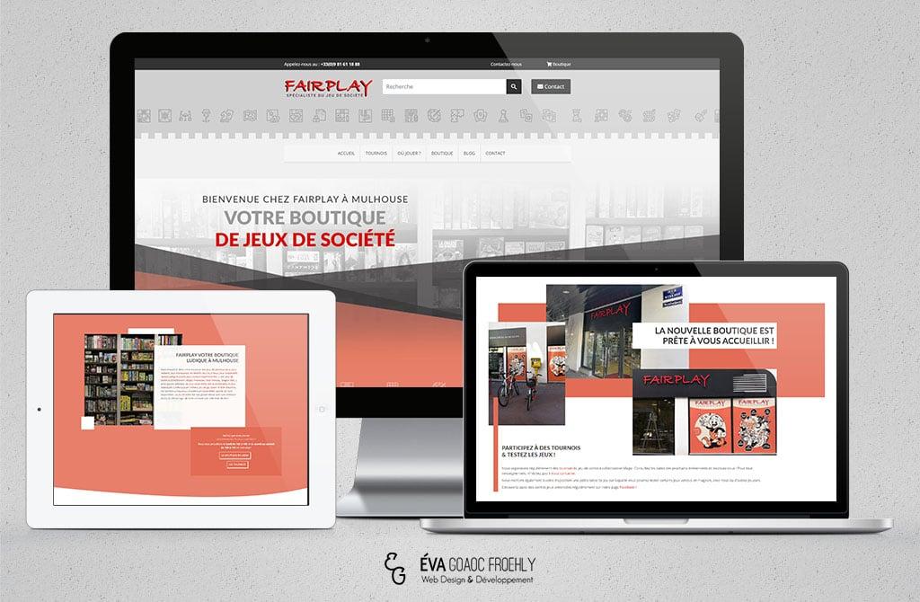 Fairplay evago.fr Eva Goaoc création de site web WordPress webdesign